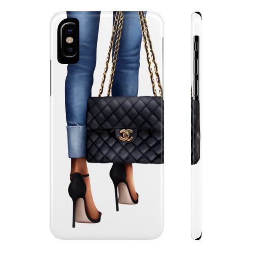 iPhone X Just Another Day Dark Skin Case Mate Slim Phone Cases