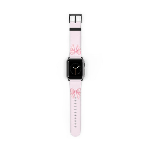 Pink Bow Watch Strap - Apple Watch Replacement Watch Band