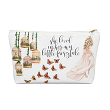 Load image into Gallery viewer, Fairytale Light Skin Blonde Hair Accessory Pouch with T-bottom - Pencil Case