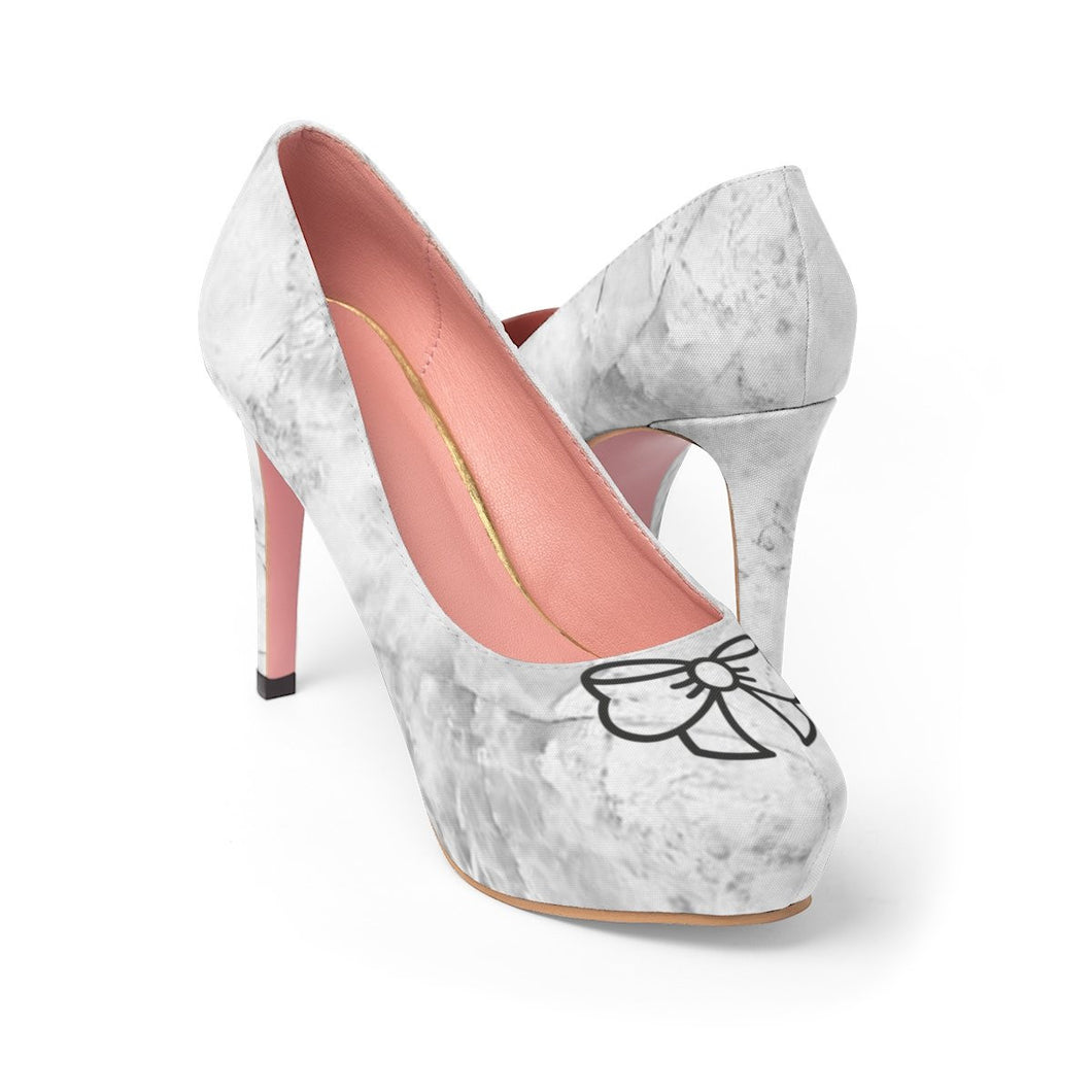 Marble And Bow Women's Platform Heels