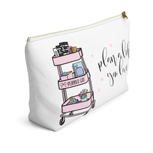 Load image into Gallery viewer, Plan A Life You Love Accessory Pouch with T-bottom - Pencil Case