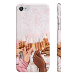 Cheers to Friendship iPhone Case - Protective Phone Cover - Planner Press Designs