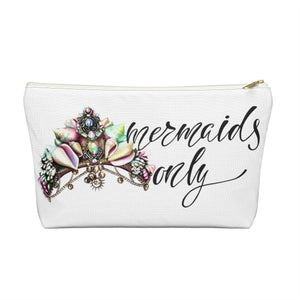 Mermaids Only Accessory Pouch with T-bottom - Pencil Case