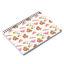 Load image into Gallery viewer, Disney Snack Goals Spiral Notebook - Ruled Line