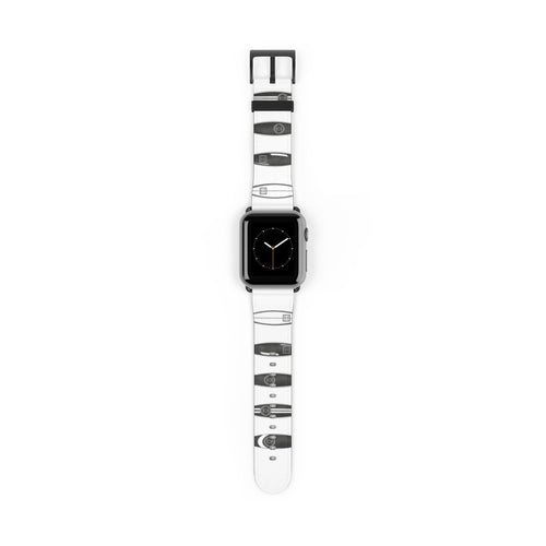 Chanel Surfboards Watch Strap - Apple Watch Replacement Watch Band - Planner Press Designs