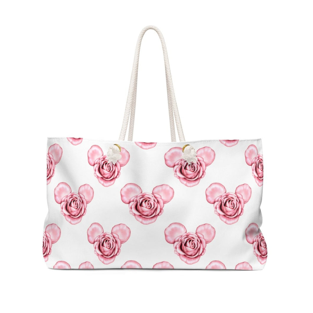 Magical Mouse Roses Weekender Bag Tote - Weekend Tote Bag - Planner Press Designs