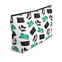 Load image into Gallery viewer, Fashion Week Accessory Pouch with T-bottom - Pencil Case