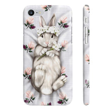 Load image into Gallery viewer, Bunny Princess iPhone Case - Protective Phone Cover - Planner Press Designs