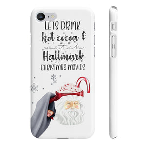 Hot Cocoa and Hallmark Movies Phone Case - Protective Phone Cover