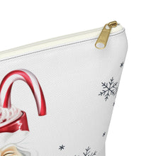 Load image into Gallery viewer, Hot Cocoa and Hallmark Accessory Pouch with T-bottom - Pencil Case