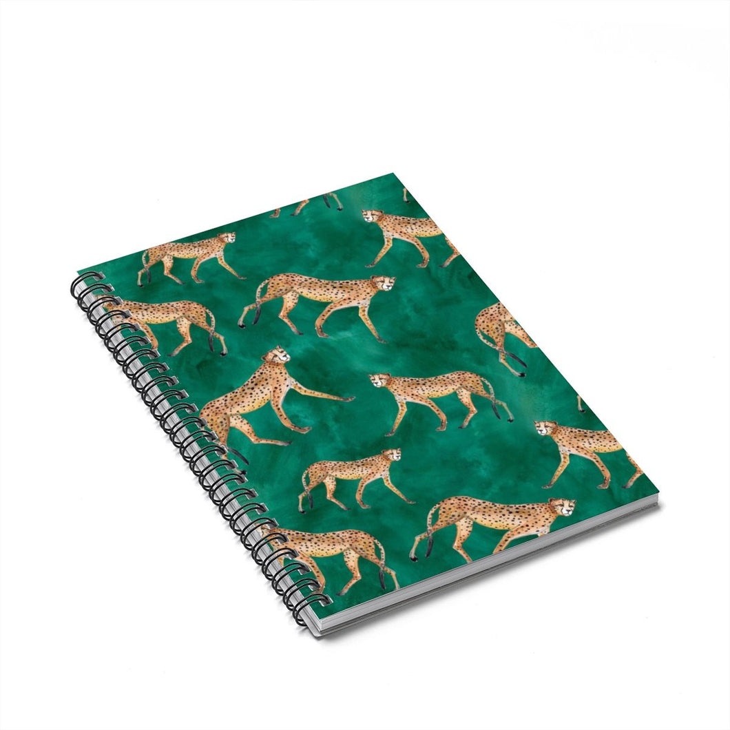 Wild World Spiral Notebook - Ruled Line
