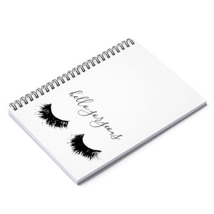 Hello Gorgeous Spiral Notebook - Ruled Line - Planner Press Designs