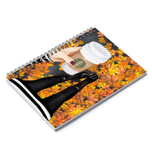 Load image into Gallery viewer, Time For Coffee Light Skin Spiral Notebook - Ruled Line