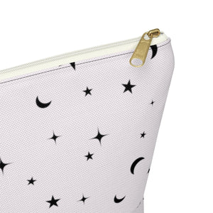 Blush Galaxy Accessory Pouch with T-bottom - Pencil Case - Planner Press Designs