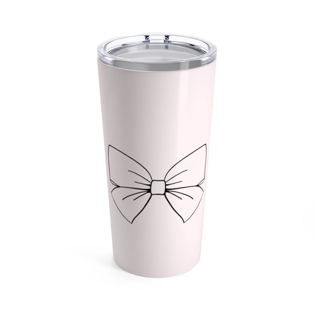 Bow Life Coffee Tumbler 20oz - Planner Press Designs