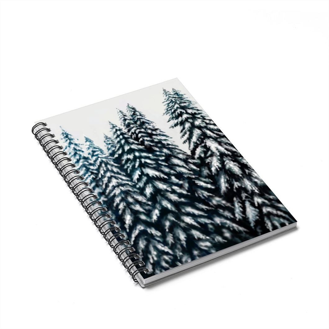 In The Trees Spiral Notebook - Ruled Line