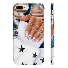 Load image into Gallery viewer, Galaxy Nails Medium Skin iPhone Case - Protective Phone Cover - Planner Press Designs