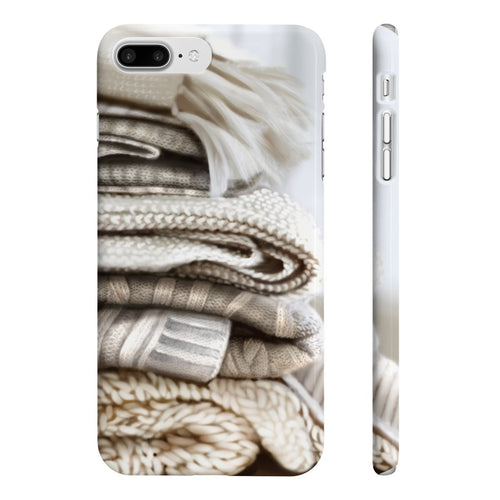 Cozy Blankets iPhone Case - Protective Phone Cover