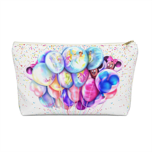 Disney Balloons Accessory Pouch with T-bottom - Pencil Case - Planner Press Designs