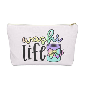 Washi Life Accessory Pouch with T-bottom - Pencil Case