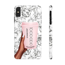 Load image into Gallery viewer, iPhone X Love Your Life Coffee Cup Dark Skin Case Mate Slim Phone Cases
