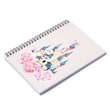 Load image into Gallery viewer, Disney Castle Spiral Notebook - Ruled Line - Planner Press Designs