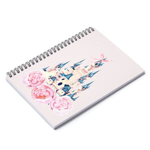 Disney Castle Spiral Notebook - Ruled Line - Planner Press Designs
