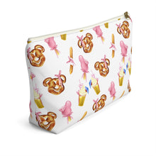 Load image into Gallery viewer, Disney Snack Goals Accessory Pouch with T-bottom - Pencil Case - Planner Press Designs