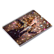 Load image into Gallery viewer, Party Time Light Skin Red Hair Spiral Notebook - Ruled Line