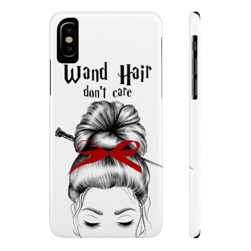 iPhone X Wand Hair Don't Care Red House Case Mate Slim Phone Cases