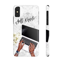 Load image into Gallery viewer, iPhone X Self Made Dark Skin Case Mate Slim Phone Cases