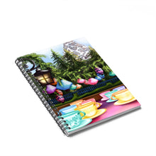 Load image into Gallery viewer, Tea Cups Disney Spiral Notebook - Ruled Line