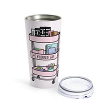 Load image into Gallery viewer, Planner Cart Tumbler 20oz