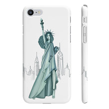 Load image into Gallery viewer, Lady Liberty iPhone Case - Protective Phone Cover - Planner Press Designs