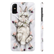 Load image into Gallery viewer, iPhone X Sweet Bunny Princess Case Mate Slim Phone Cases