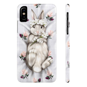 iPhone X Sweet Bunny Princess Case Mate Slim Phone Cases