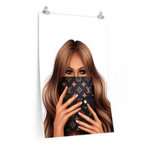 Load image into Gallery viewer, LV Planner Girl Medium Skin Premium Matte Poster