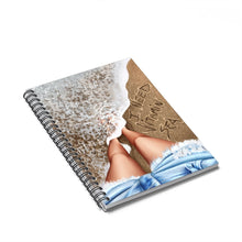 Load image into Gallery viewer, Vitamin Sea Dark Light Skin Spiral Notebook - Ruled Line