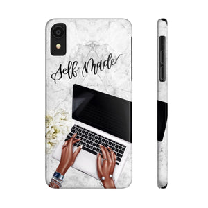 iPhone X Self Made Dark Skin Case Mate Slim Phone Cases