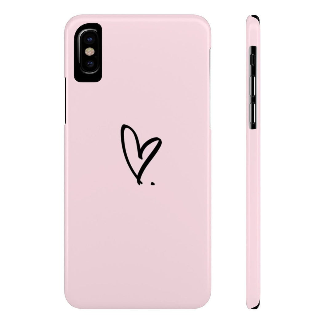 iPhone X Love Period Case Mate Slim Phone Cases