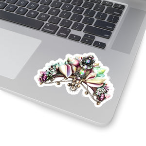 Mermaid Crown Vinyl Sticker Decal