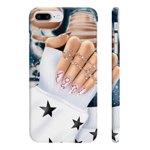 Load image into Gallery viewer, Galaxy Nails Light Skin iPhone Case - Protective Phone Cover - Planner Press Designs