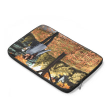 Load image into Gallery viewer, Autumn in the Park Laptop Sleeve - Planner Press Designs