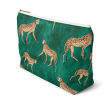 Load image into Gallery viewer, Wild and Free Accessory Pouch with T-bottom - Pencil Case
