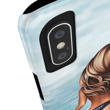 Load image into Gallery viewer, iPhone X Surfer Girl Medium Skin Brown Hair Case Mate Slim Phone Cases