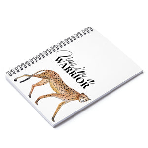 Warrior Spiral Notebook - Ruled Line