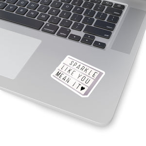 Sparkle Light Box Vinyl Sticker Decal