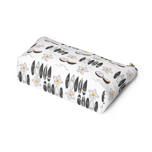 Aloha Designer Accessory Pouch with T-bottom - Pencil Case - Planner Press Designs