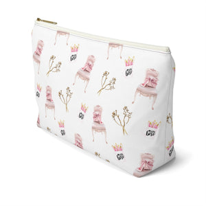 Girl Boss Office Essentials Accessory Pouch with T-bottom - Pencil Case