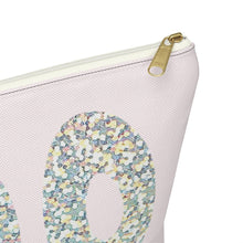 Load image into Gallery viewer, Holo Glitter Boo Accessory Pouch with T-bottom - Pencil Case